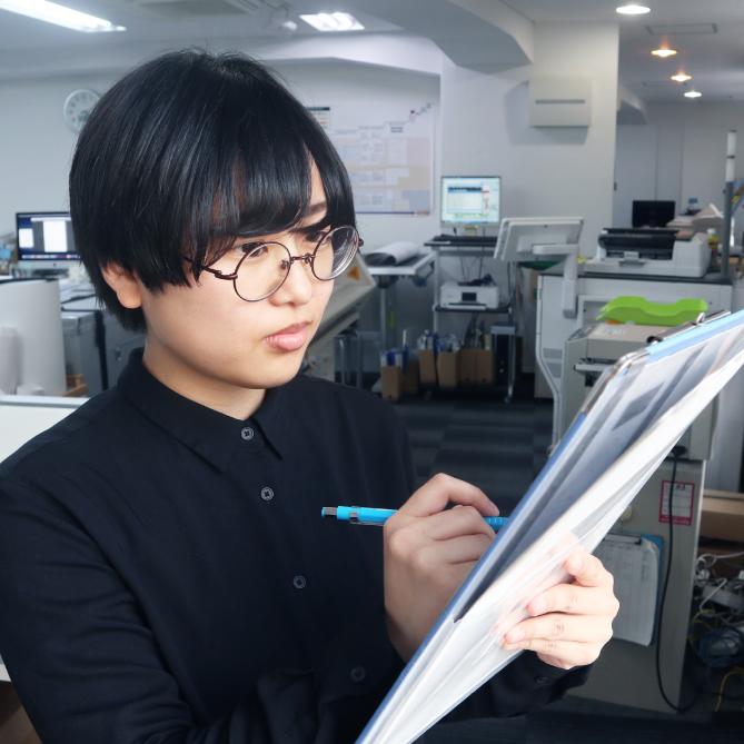 総務部 2020年入社 藤井 登子